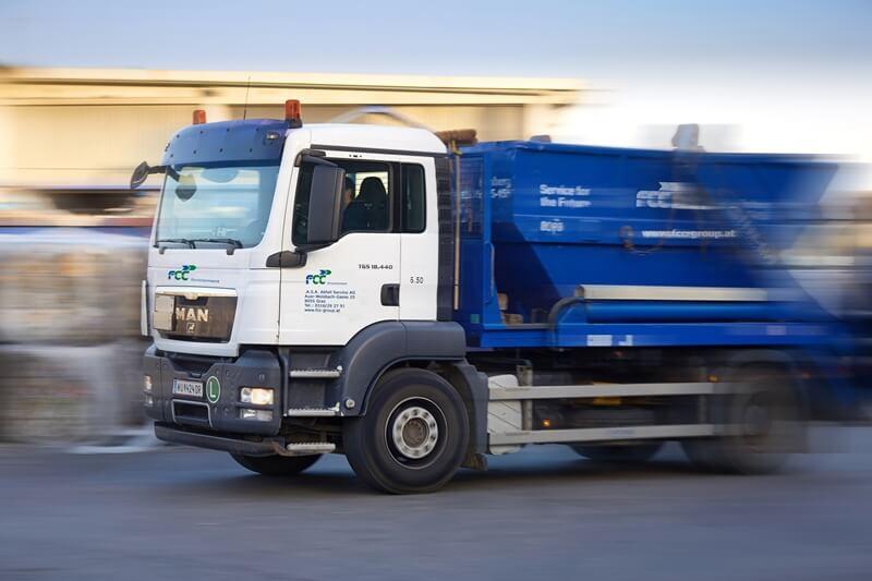 Mit Abfallservice Online bietet FCC Austria eine sehr einfache Möglichkeit, Abfälle zu entsorgen. (Credit: FCC Austria)