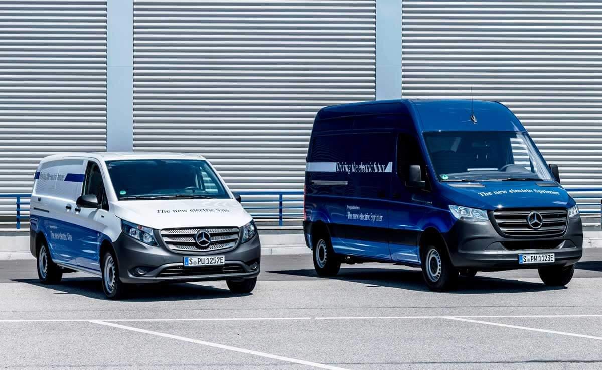 2 Mercedes-Sprinter
