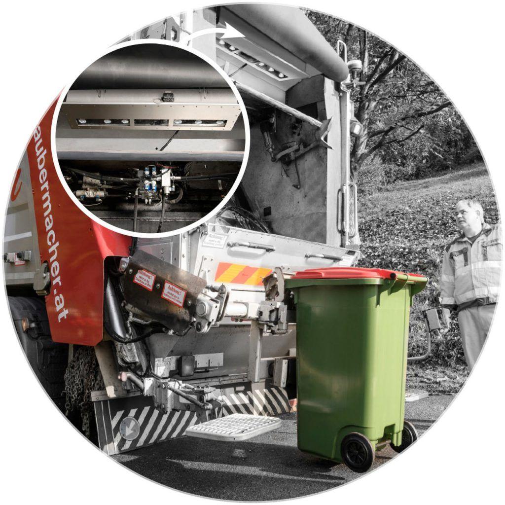 Smart Waste Detailaufnahme Saubermacher