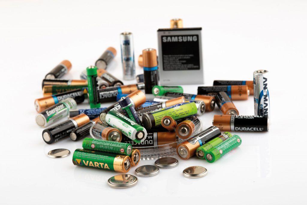 Batterien entsorgen