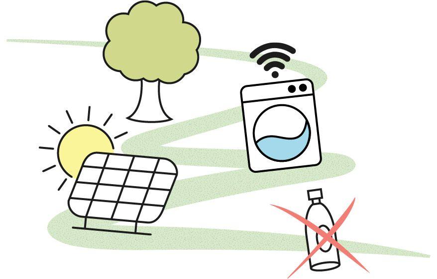 Green Home Grafik